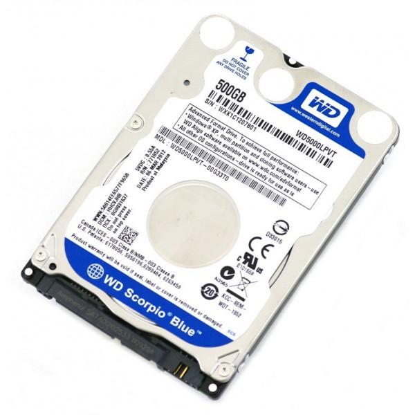 HDD 2.5'' WD BLUE 500GB SATA3